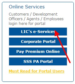 LIC eservices
