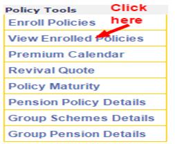 LIC Policy tools