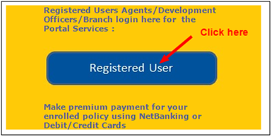 Lic Registered user click