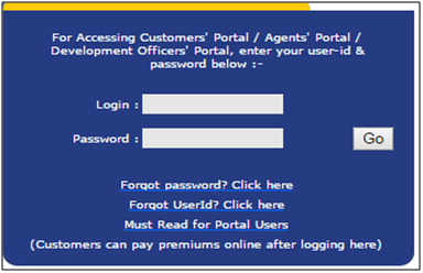 Registered user login deta