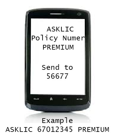 Steps to Check LIC Policy Status By SMS