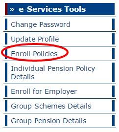 LIC Enroll Policies