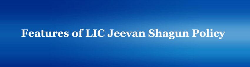LIC Jeevan Shagun Policy