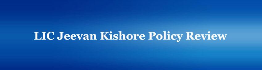 LIC Jeevan Kishore Policy