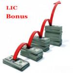 lic bonus rates