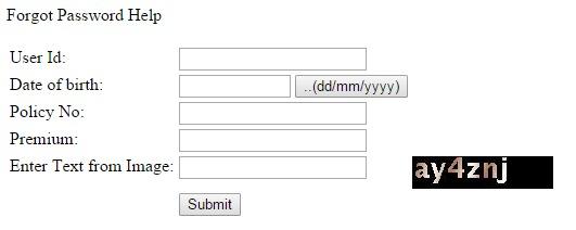 Lic login forgot password image