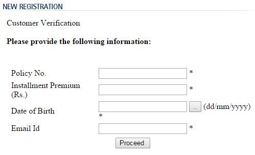 Lic login new registration image