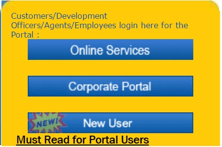 Lic login new user