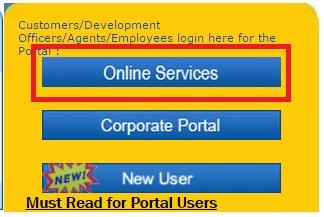 lic transaction status online services